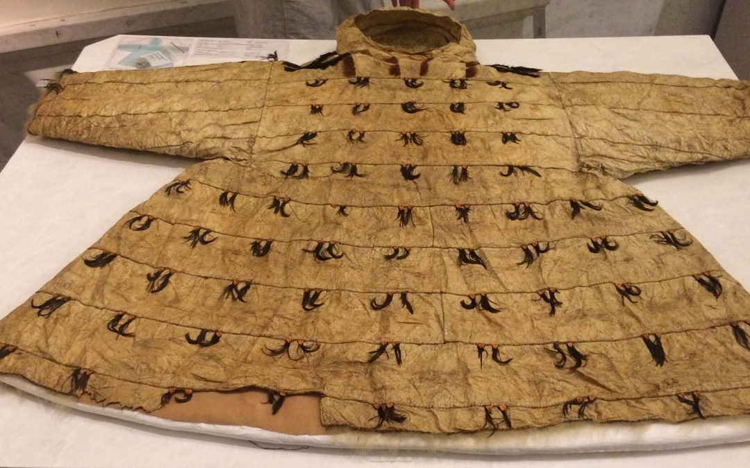 SANIGHTAAQ  – Yupik Ceremonial Gut Parka