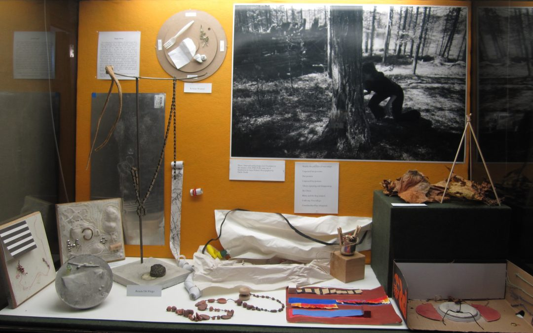 The soil is sentient:  An Ar(t)chaeological Exhibit