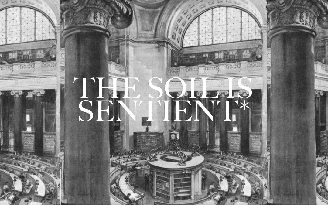 """The Soil Is Sentient"""