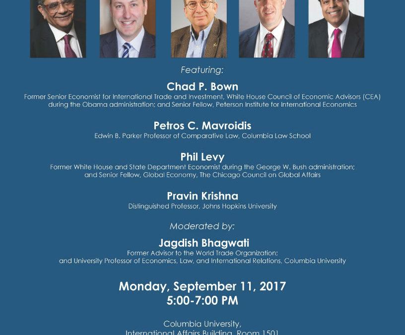 Former Advisors to World Trade Organization Debating Trump Administration's Trade Policy