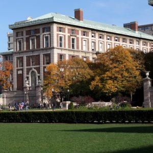 View of Columbia University
