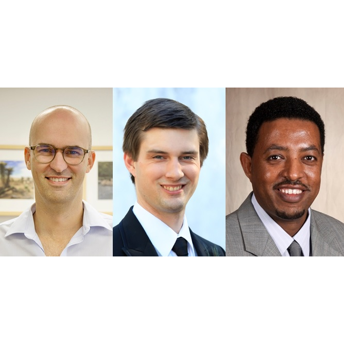 Department Welcomes John Asker, Evan D. Sadler and Tamrat W. Gashaw