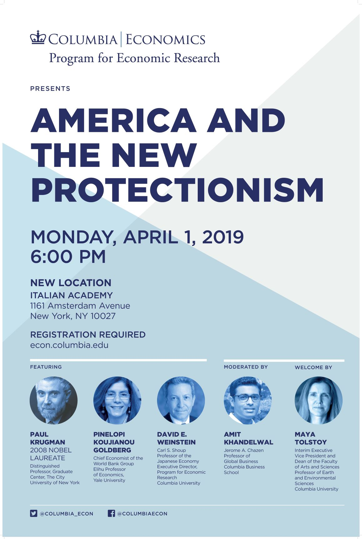 America and The New Protectionism Poster