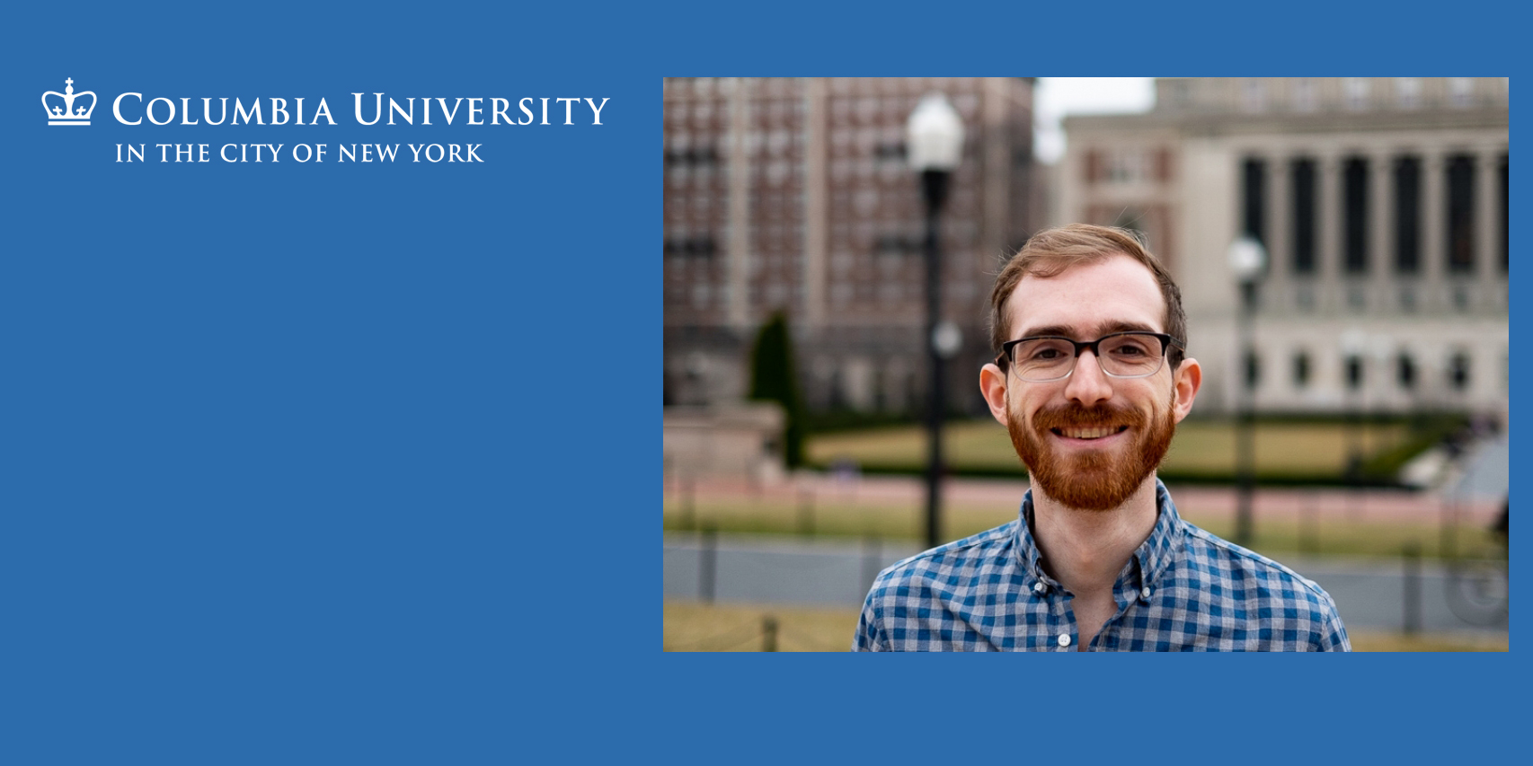 Ph.D. Student, Andrew Olenski Featured in GSAS Student Spotlight Series