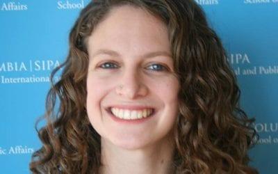 Student Spotlight: Katy Swartz SIPA '19