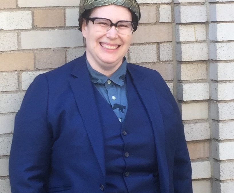"""Congratulations to Rosa Schneider, who successfully defended her dissertation, """"Race and Performance Historiography in the American Theatre 1991-2014″"""