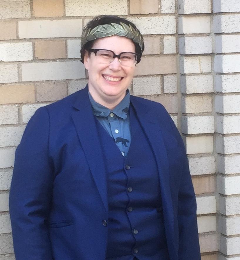 "Congratulations to Rosa Schneider, who successfully defended her dissertation, ""Race and Performance Historiography in the American Theatre 1991-2014″"